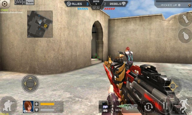 downloadCrisis Action Mod APK