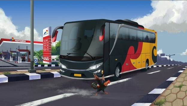 download Bus Simulator Indonesia mod