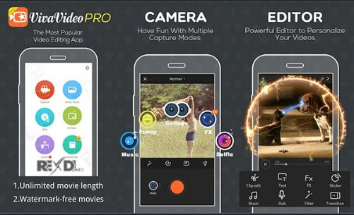 download vivavideo pro apk