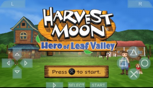 Download Game PPSSPP Harvest Moon