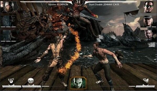 download mortal kombat x apk data