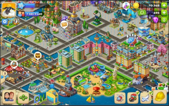 download township mod apk max level