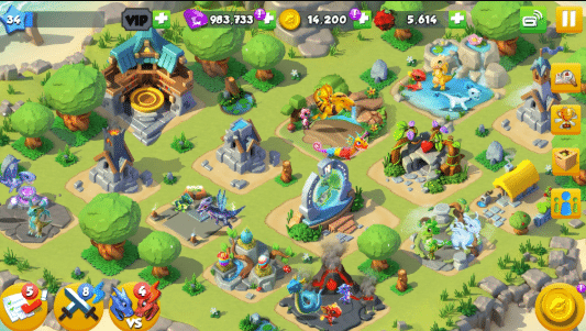 dragon mania legends simulator naga mod apk