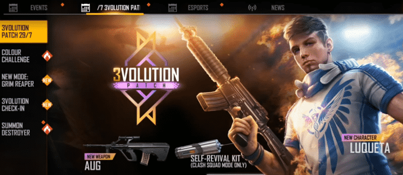 free fire 3volution download