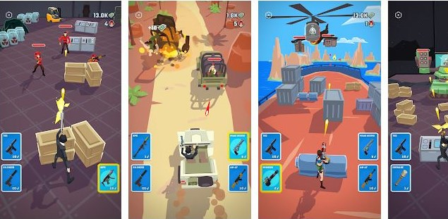 download agent action mod apk