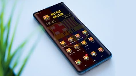 Barca Theme For Realme And Oppo