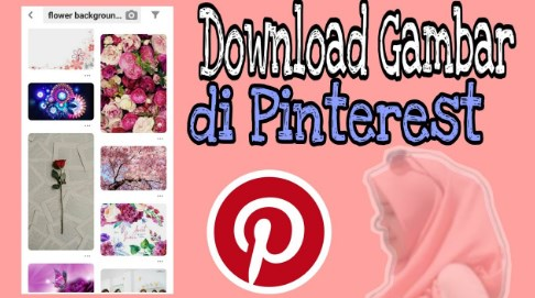 Cara Download Gambar Pinterest